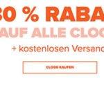 Crocs: 30% Rabatt auf alle Clogs-Modelle + 20% Extra-Rabatt + kostenlose Lieferung
