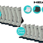 Head 6er Pack Performance-Socken für 20,90€ inkl. Versand