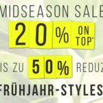Tom Tailor: Mid Season Sale mit 50% Rabatt + 20% Extra-Rabatt